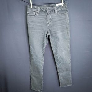 American Eagle Jeans Size 30x30 Green Gray Mens